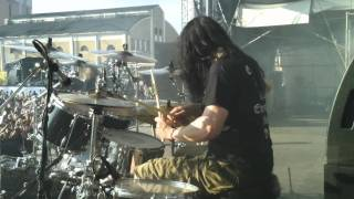 Pearl Artist Adrian Erlandsson/At The Gates Drum Cam Tuska 2011 - Blinded By Fear mp3
