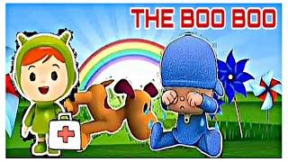 The Boo Boo song com Pocoyo / o dodói do pocoyo / Nursery Rhymes Kids & Songs - Música de ninar