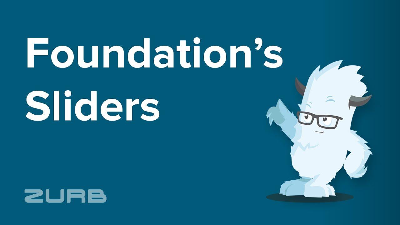 Slider | Foundation for Sites 6 Docs
