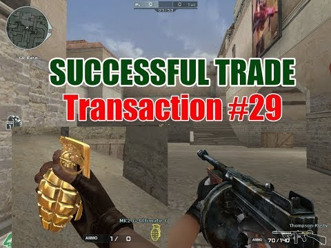Successful Trade Thompson Rusty to MK2 G Ultimate Gold Transaction #29