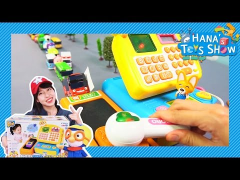 Tayo went to store to get some bread! l Hana's Toy Show #3 l Hana the Mechanic l Tayo the Little Bus