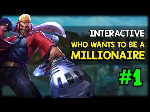 Who Wants To Be A Millionaire #1 (League of Legends Gameplay Questions)