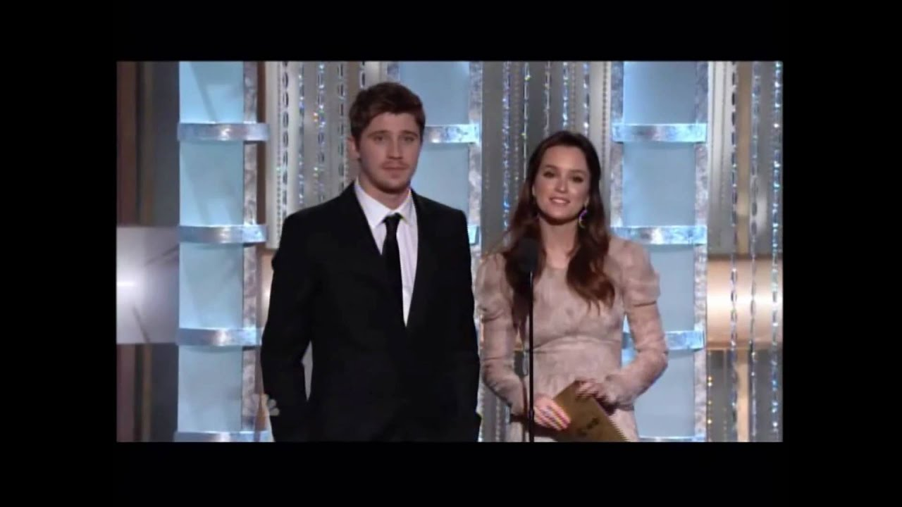 Garrett Hedlund and Leighton Meester Presenting at Golden ...
