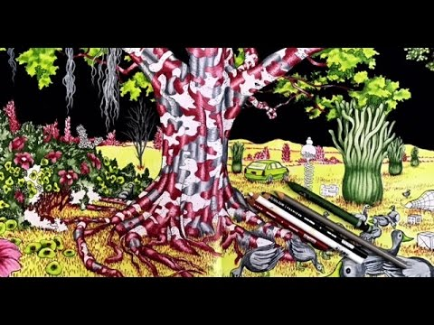 Coloring In A Walk Eden By Anders Nilsen