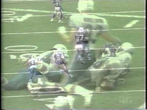 Zach Thomas first game 1996 big hit