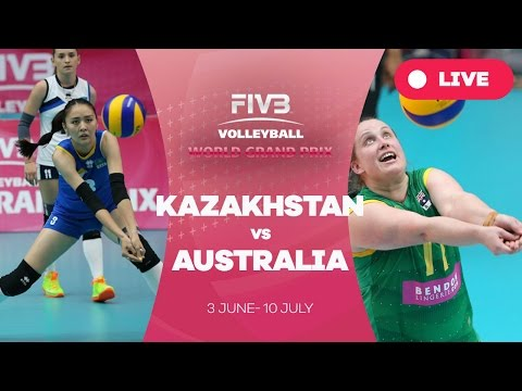 Kazakhstan v Australia - Group 3: 2016 FIVB Volleyball World Grand Prix