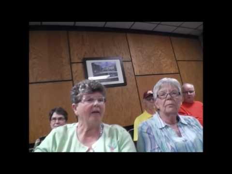 Little Falls Mn Aldi grocery public hearing 6 12 17