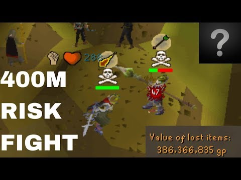 400M RISK FIGHT VS ABYSS (Face Reveal)
