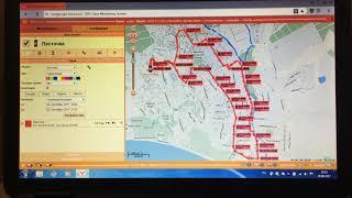 Работа GPS трекера на сервере ORANGE 20092017.