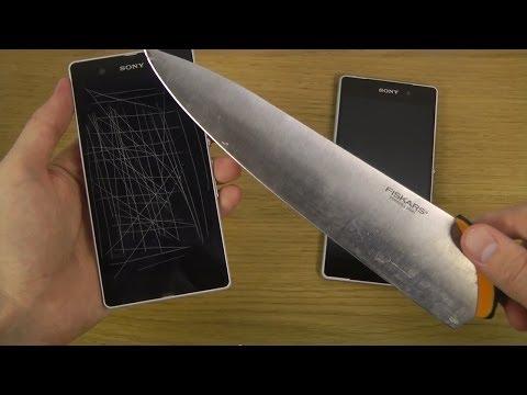 Sony Xperia Z2 - Knife Surprise!