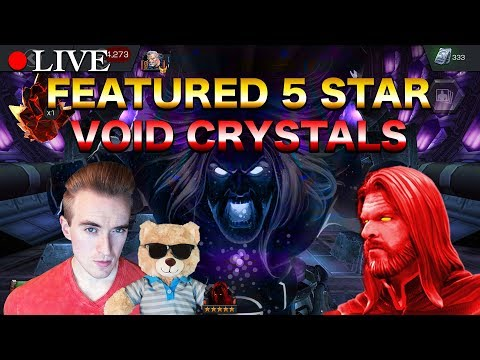 LIVE: Featured 5 Star Void Crystals | Marvel: Contest of Champions
