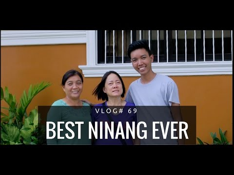 THE BEST NINANG IN THE WORLD!