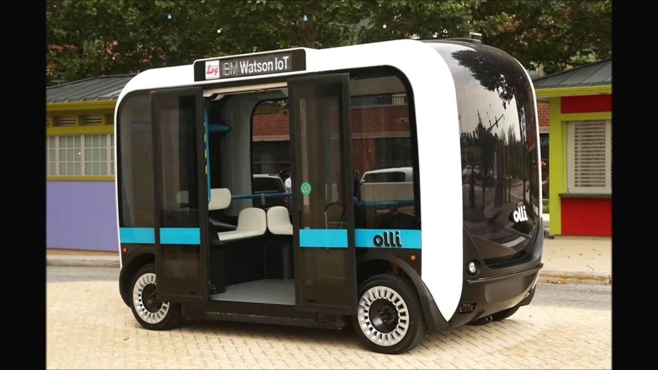 Olli - Driverless Bus Started In Washington  D  C  - Local Motors