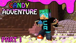 Candy Land Adventure with Cybernova - Part 1 - Killer Gingerbread Babies - Minecraft