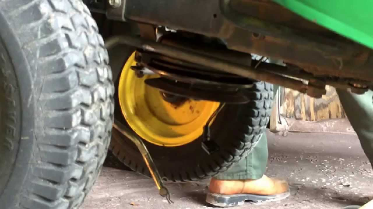 PTO Clutch Replacement for John Deere mower 190c (100 series)  YouTube
