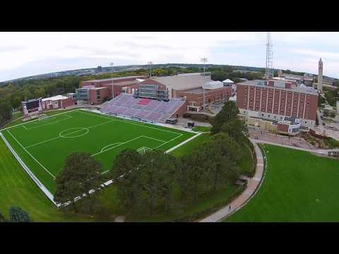 University of Nebraska-Omaha from the sky