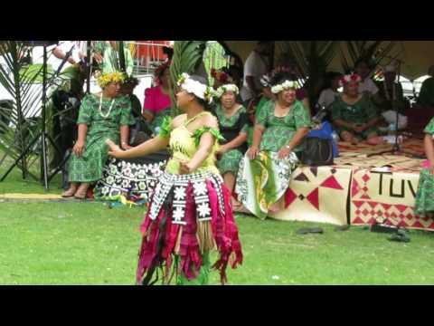 Tuvalu dance, Pasifika Festival 2017