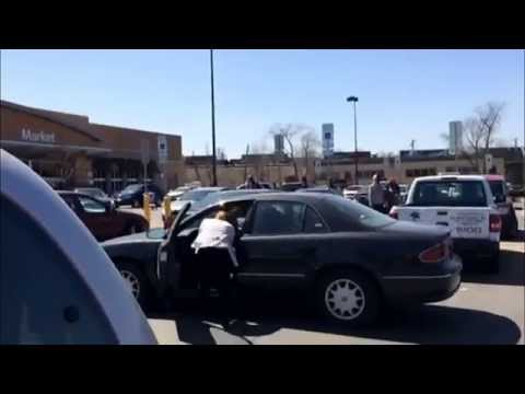 Chicago Fight at 87th Walmart
