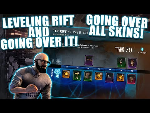 LEVELING RIFT AND GOING OVER IT! NEW RIFT, LEAKED SKINS AND NEW TOME! Dead By Daylight
