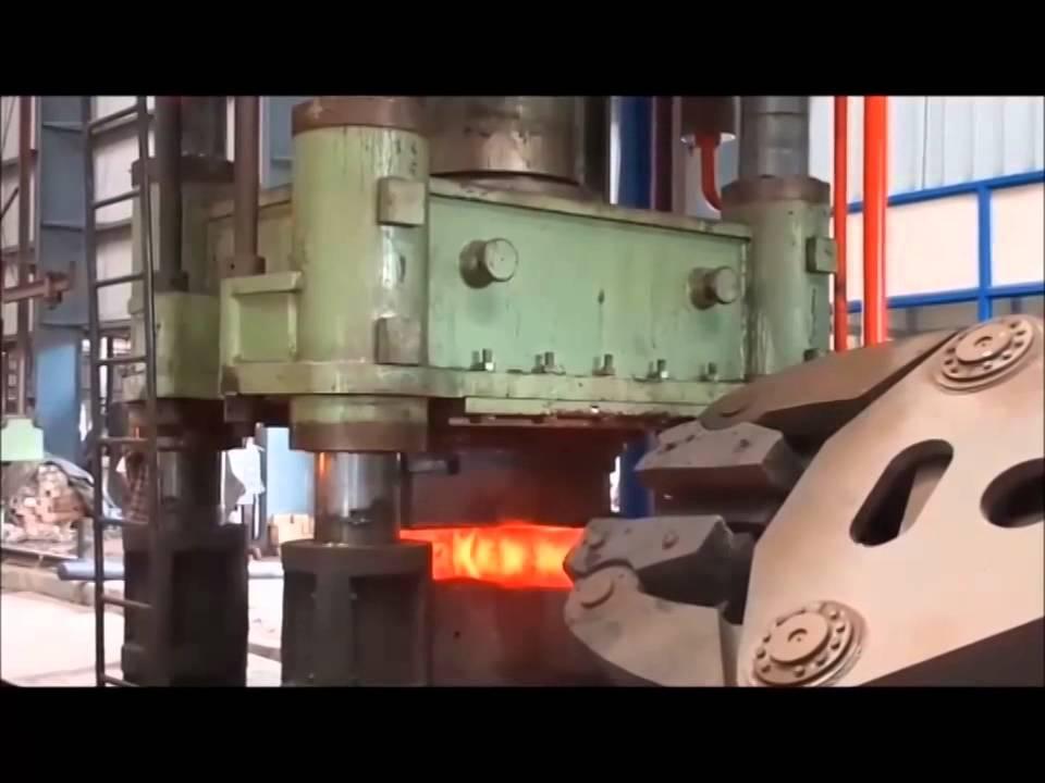 1 250 toneladas de forja libre prensa