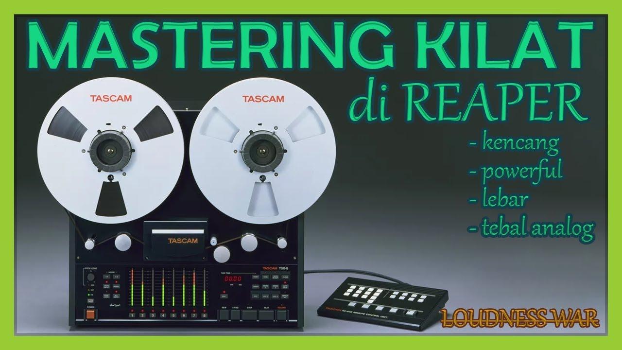 Belajar Rekaman Lagu di Rumah | Tutorial REAPER | Home Recording