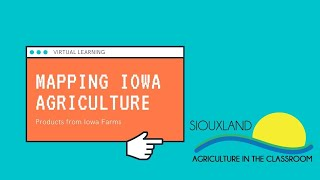 4th Grade Mapping Iowa Agriculture (September)