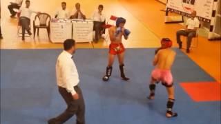 Hamza SALHI : Championnat du maroc kick boxing 2014 a kenitra