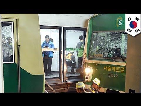 South Korea train crash injures 170