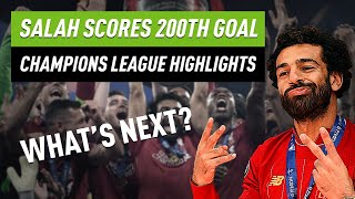 Champions League highlights - Salah's 200th goal & Barca's Fati becomes youngest goalscorer