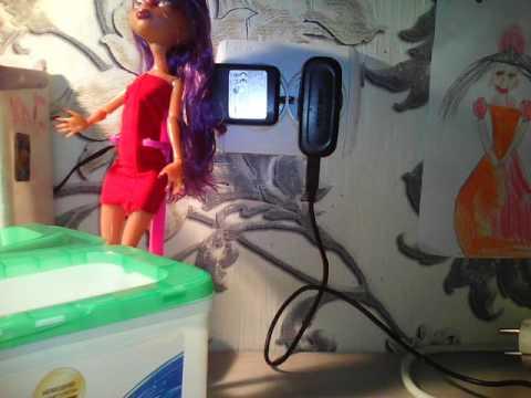 Смотреть онлайн Мои аксессуары для кукол для кукольного домика первая часть