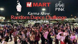 [KPOP IN PUBLIC CHALLENGE] Random Dance Challenge HMart Event Day 1 Part 3 2019 || Karma Krew