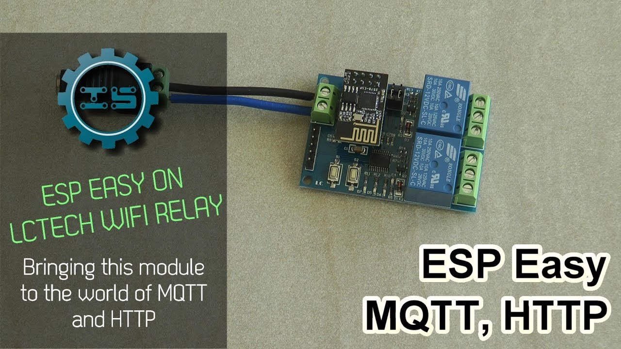 Install ESP Easy on LCTech Wifi Relay