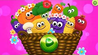 Lustige Lebensmittel! Lernspiele für Kinder! Spiele Gratis. (DE)