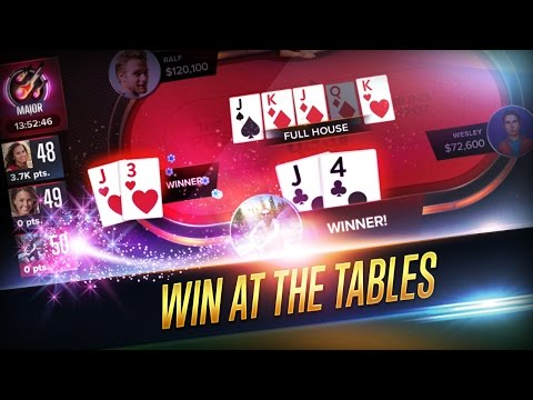 Poker Heat - Free Texas Holdem Android Gameplay