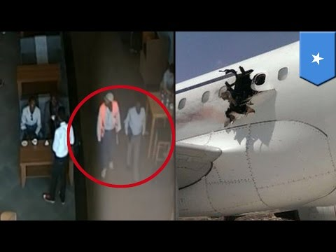 Somali plane bombing: Suspect used laptop bomb handed to him by airport workers - TomoNews