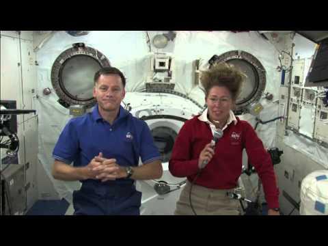 STS-135 Flight Day 7 Interviews, Part 1