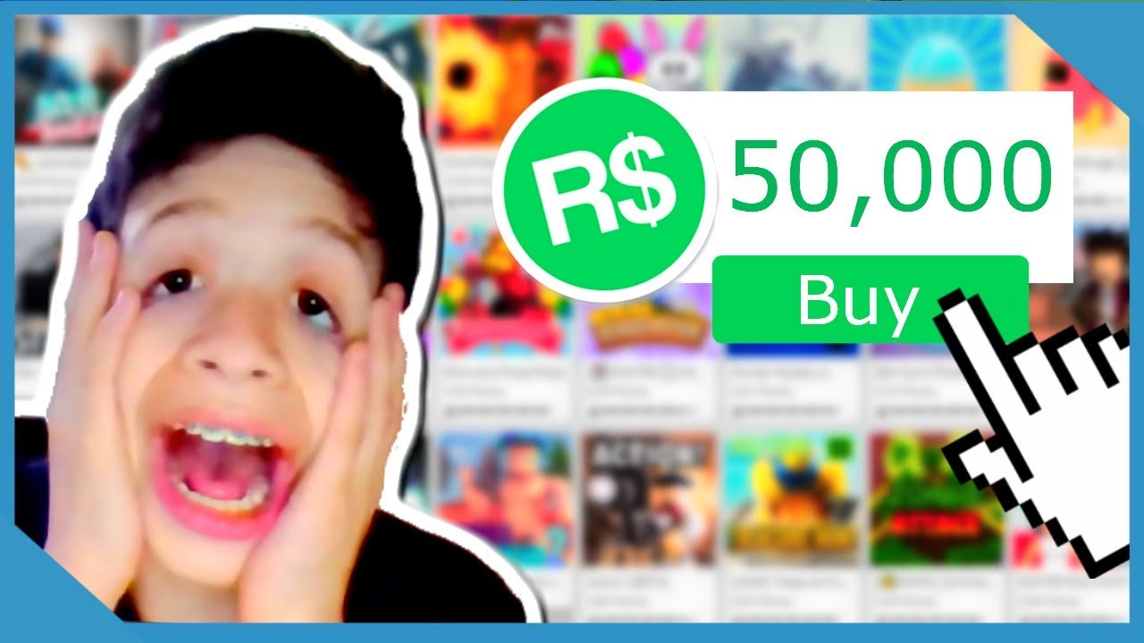 Buying 50000 Robux In Roblox - comprar robux barcelona