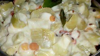 బీరకాయ పాలు పోసిన కూర / పాలు విరిగి పోకుండా పాలు పోసిన కూర చేయటం ఎలా/ Ridgegourd curry with milk