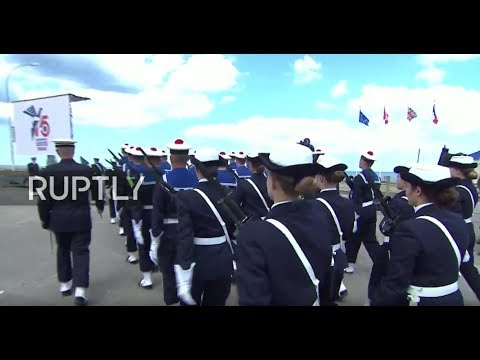 LIVE: 75th Anniversary Of D-Day: Official French Ceremony Presided By Emmanuel Macron