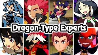 Pokémon Game : Evolution of Dragon-type Trainers Battles (1996 - 2020)