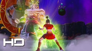 DRAGON BALL XENOVERSE 2 - Female Broly Legendary Super Saiyan Transformation Mod VS Broly