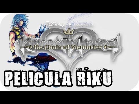 Kingdom Hearts Re:Chain of Memories - » Pelicula Completa Riku « - Español [HD]