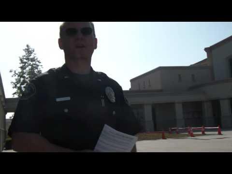 Buena Park Police, first amendment test part 2, PASSED.