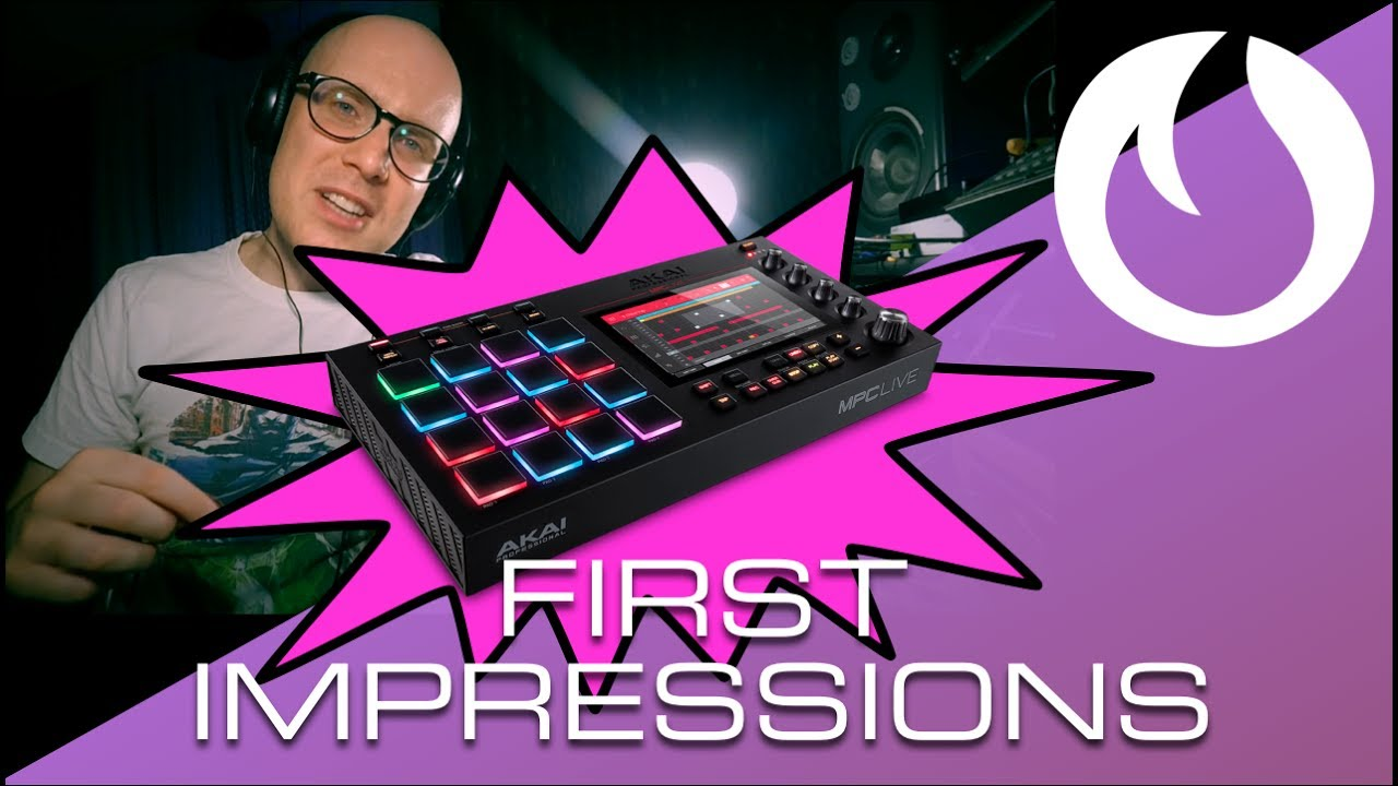 AKAI MPC Live: First Impressions (Late Night Tips)
