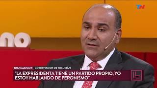 """Manzur: """"cristina Ya Cumplió Su Ciclo Político"""""""