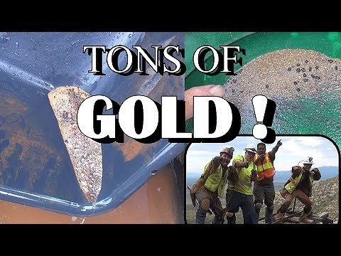 TONS OF GOLD !!! Biggest Clean Up EVER !!!!! ask Jeff Williams