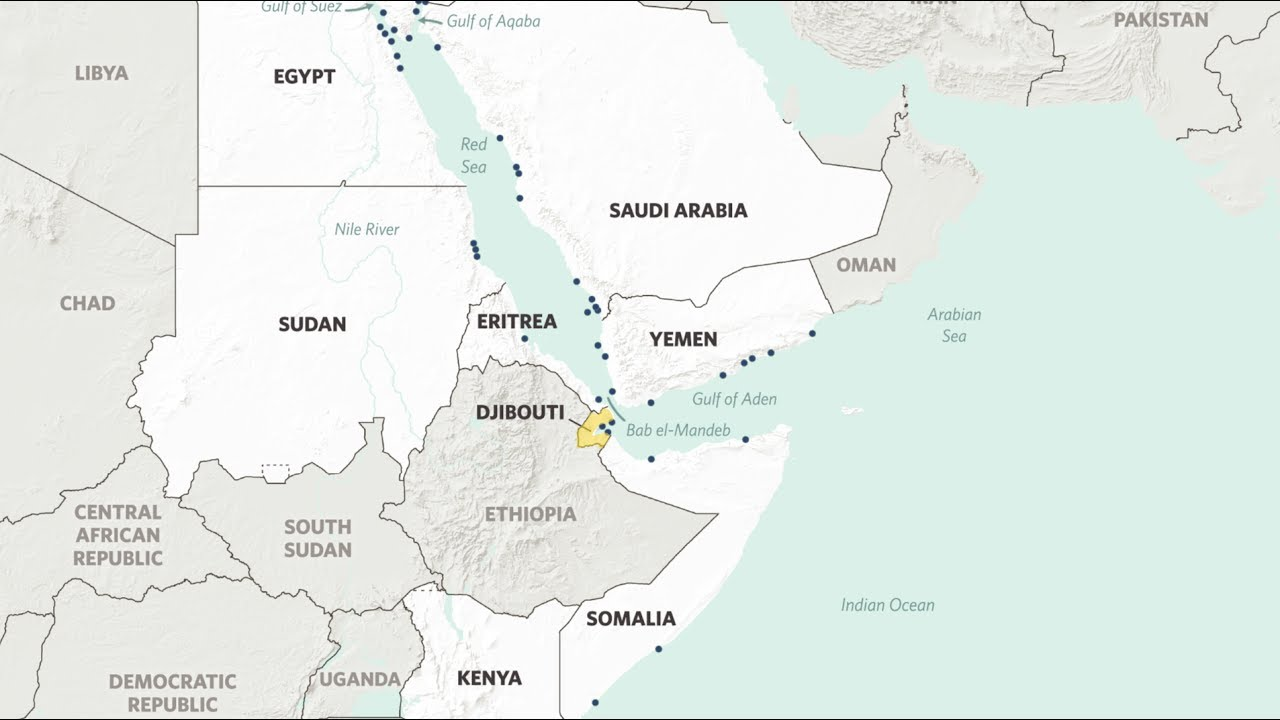 Djibouti\'s Coveted Strategic Location - YouTube