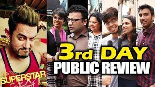 Secret Superstar | 3rd DAY (Saturday) PUBLIC REVIEW | Aamir Khan, Zaira Wasim