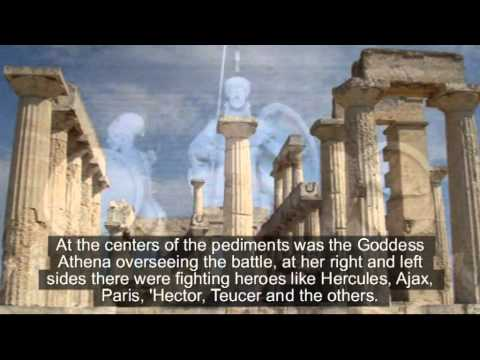 The rapture of the sculptures of Aphaia's Temple
