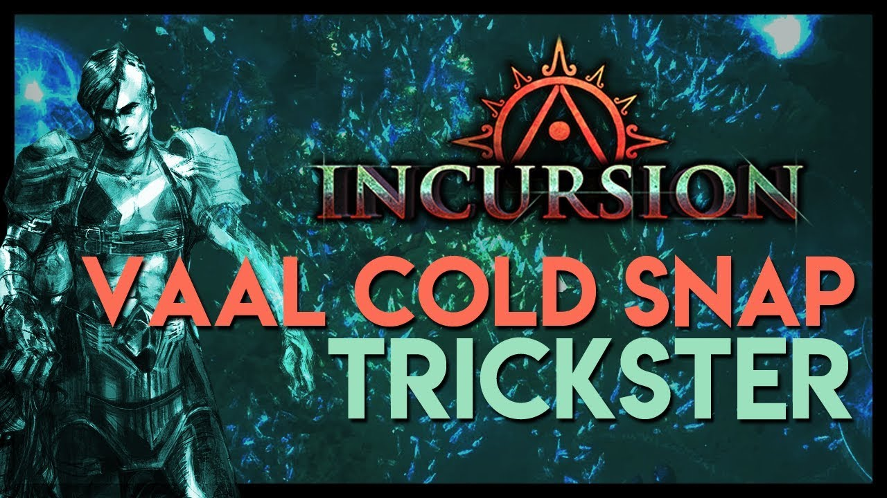 path of exile build bio vaal cold snap trickster youtube